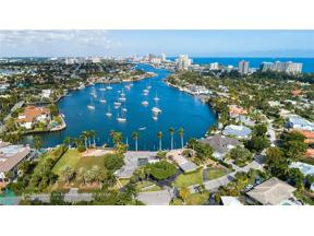 Property for sale at 1627-9 E Lake Drive, Fort Lauderdale,  Florida 33316