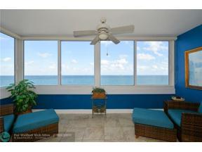 Property for sale at 4040 Galt Ocean Dr Unit: 818, Fort Lauderdale,  Florida 33308