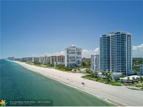 Property for sale at 1600 S Ocean Blvd Unit: 1802, Pompano Beach,  Florida 33062