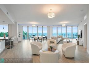 Property for sale at 701 N Fort Lauderdale Beach Blvd Unit: 502, Fort Lauderdale,  Florida 33304