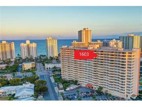 Property for sale at 3300 NE 36th St Unit: 1603, Fort Lauderdale,  Florida 33308