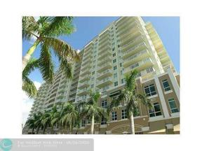 Property for sale at 3020 NE 32 Ave Unit: 619, Fort Lauderdale,  Florida 33308