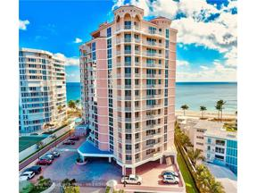 Property for sale at 1460 S Ocean Blvd Unit: 503, Lauderdale By The Sea,  Florida 33062
