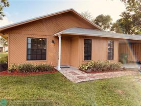 Property for sale at 3749 W Citrus Trce Unit: 12, Davie,  Florida 33328