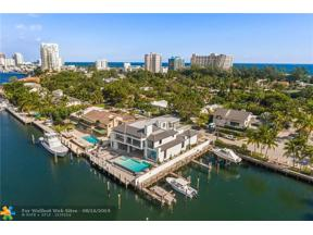 Property for sale at 1425 E Lake Dr, Fort Lauderdale,  Florida 33316