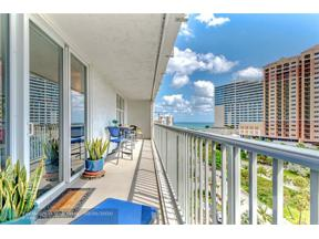 Property for sale at 77 S Birch Rd Unit: 12B, Fort Lauderdale,  Florida 33316