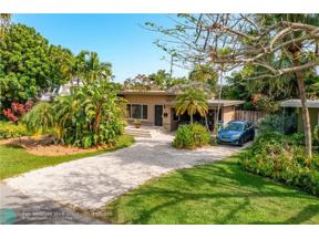 Property for sale at 1722 NE 27th Dr, Wilton Manors,  Florida 33334