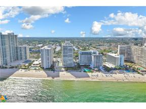 Property for sale at 4020 Galt Ocean Dr Unit: 1105, Fort Lauderdale,  Florida 33308