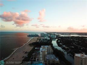 Property for sale at 2100 S Ocean Ln Unit: 703, Fort Lauderdale,  Florida 33316