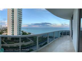Property for sale at 16001 Collins Ave Unit: 702, Sunny Isles Beach,  Florida 33160