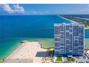 Property for sale at 2200 S Ocean Ln Unit: 503, Fort Lauderdale,  Florida 33316