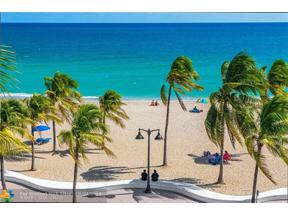 Property for sale at 101 S Fort Lauderdale Beach Blvd Unit: 308, Fort Lauderdale,  Florida 33316