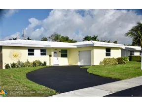 Property for sale at 5861 NE 21st Dr, Fort Lauderdale,  Florida 33308