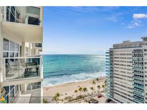 Property for sale at 3500 Galt Ocean Dr Unit: 1504, Fort Lauderdale,  Florida 33308