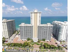 Property for sale at 3500 Galt Ocean Dr Unit: 1108, Fort Lauderdale,  Florida 33308