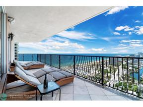 Property for sale at 100 S Birch Rd Unit: 2401, Fort Lauderdale,  Florida 33316