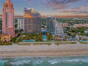 Property for sale at 2200 N Ocean Boulevard Unit: S901, Fort Lauderdale,  Florida 33305