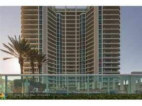 Property for sale at 101 S Fort Lauderdale Beach Blvd Unit: 2703, Fort Lauderdale,  Florida 33316