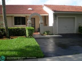 Property for sale at 16650 Greens Edge Cir Unit: 66, Weston,  Florida 33326