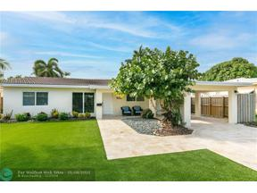 Property for sale at 1913 NE 17th Way, Fort Lauderdale,  Florida 33305