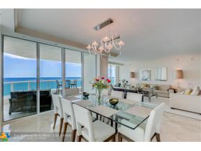 Property for sale at 101 S Fort Lauderdale Beach Blvd Unit: 1705, Fort Lauderdale,  Florida 33316