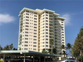 Property for sale at 6000 N Ocean Blvd Unit: 6H, Lauderdale By The Sea,  Florida 33308