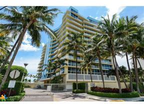 Property for sale at 1200 Holiday Dr Unit: 1103, Fort Lauderdale,  Florida 33316