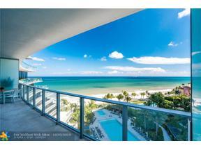 Property for sale at 2200 N Ocean Boulevard Unit: N802, Fort Lauderdale,  Florida 33305