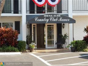 Property for sale at 4848 NE 23rd Ave Unit: 9C, Fort Lauderdale,  Florida 33308