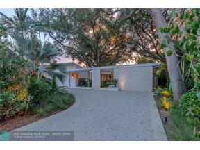 Property for sale at 207 N Gordon Road, Fort Lauderdale,  Florida 33301