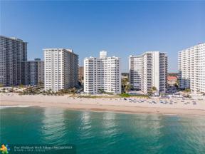 Property for sale at 3600 Galt Ocean Dr Unit: 8C, Fort Lauderdale,  Florida 33308
