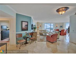 Property for sale at 100 S Birch Rd Unit: 1506B, Fort Lauderdale,  Florida 33316