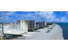 Property for sale at 730 N Ocean Blvd Unit: 904, Pompano Beach,  Florida 33062