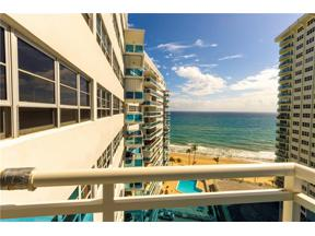 Property for sale at 3430 Galt Ocean Unit: 1411, Fort Lauderdale,  Florida 33308