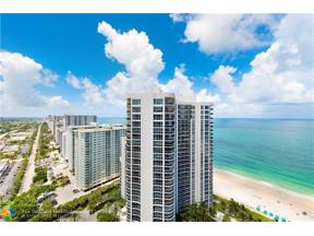 Property for sale at 3200 N Ocean Blvd Unit: 2909, Fort Lauderdale,  Florida 33308