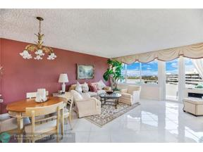 Property for sale at 3233 NE 34th St Unit: 1702, Fort Lauderdale,  Florida 33308