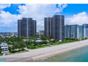 Property for sale at 3200 N Ocean Blvd Unit: 901, Fort Lauderdale,  Florida 33308