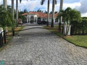 Property for sale at 11260 NW 18th St, Plantation,  Florida 33323
