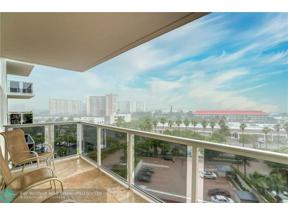 Property for sale at 3700 Galt Ocean Dr Unit: 712, Fort Lauderdale,  Florida 33308