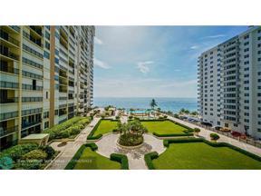 Property for sale at 4280 Galt Ocean Dr Unit: 5C, Fort Lauderdale,  Florida 33308