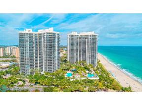 Property for sale at 3100 N Ocean Blvd Unit: 1409, Fort Lauderdale,  Florida 33308