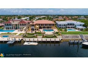 Property for sale at 4210 NE 31st Ave (Intracoastal Drive), Lighthouse Point,  Florida 33064