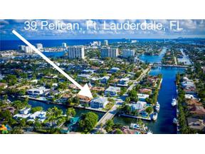 Property for sale at 39 Pelican Dr, Fort Lauderdale,  Florida 33301