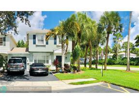 Property for sale at 6002 Lombard Ct Unit: 6002, Tamarac,  Florida 33321
