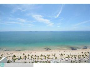 Property for sale at 101 S Ft Laud Bch Blvd Unit: 2803, Fort Lauderdale,  Florida 33316