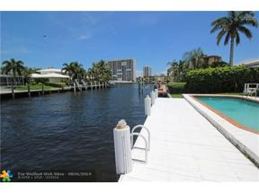 Property for sale at 2861 NE 8th St, Pompano Beach,  Florida 33062