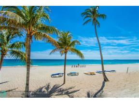 Property for sale at 3430 Galt Ocean Dr Unit: 506, Fort Lauderdale,  Florida 33308