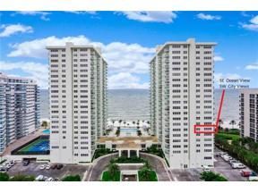 Property for sale at 3400 Galt Ocean Dr Unit: 610 S, Fort Lauderdale,  Florida 33308