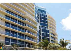 Property for sale at 1200 Holiday Dr Unit: 705, Fort Lauderdale,  Florida 33316
