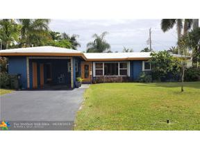 Property for sale at 3602 NE 19th Ave, Oakland Park,  Florida 33308